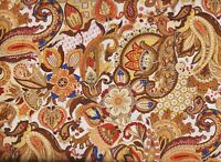 BTY Fabri-Quilt ROYAL PAISLEY Print 100% Cotton Quilt Craft Fabric by Yard
