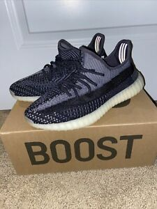 Adidas Yeezy Boost 350 V2 Carbon Mens Size 8 SHIPS FAST Brand New- Deadstock