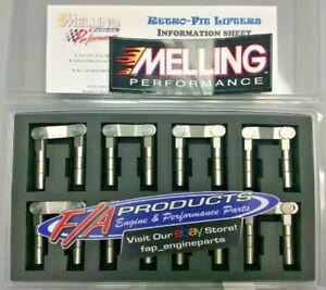 Melling BB817RF16 Big Block Chevy 396-454 Retro-Fit Hydraulic Roller Lifter Set