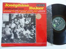 JOSEPHINE BAKER Ses plus grands succès 740030 RCA VICTOR FRANCE
