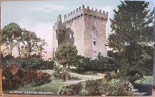 Irish Postcard BLARNEY CASTLE Stone Keep Tower County Cork Ireland Chas L Reis