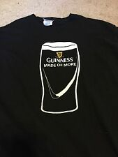 Three Guinness T-shirts Craft Beer Stout Men's size Large and XL.