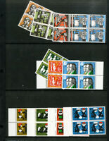 German Stamps All mint NH lot of sets. Mostly blocks of 4.