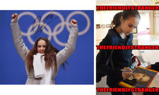 """ALINA ZAGITOVA signed """"2018 OLYMPICS"""" 8X10 PHOTO - Gold Medal Figure Skating COA"""