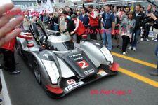 Fassler & Lotterer & Treluyer Audi R18 TDi Winners Le Mans 2011 Photograph 6