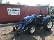 2012 New Holland T2320 4X4 Compact Tractor w/ Loader. NO RESERVE!!