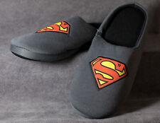 Superman Hausschuhe - Pantoffeln - Herren Pantoletten - 41, 42, 43, 44