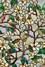 New SUMMER MAGNOLIA Privacy Stained Glass Decorative Window Film Floral Decor