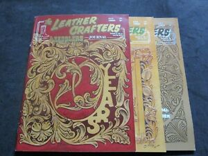 Vintage Magazines The Leather Crafters & Saddlers Journal 21 Nos. 1-6 2011
