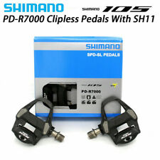 Bicycle 105 PD-R7000 Carbon SPD-SL Road Bike Pedals set w/SM-SH11 31° Adjustable