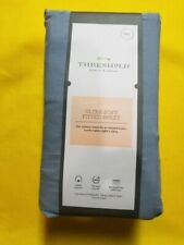 Ultra Soft Fitted Sheet 300TC, Full, Light Indigo - Threshold™