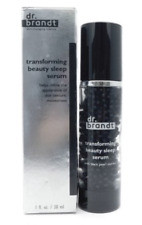 Dr. Brandt Transforming Beauty Sleep Serum with Black Pearl Extract 1oz BOXED