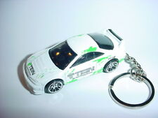 NEW 3D WHITE 2001 ACURA INTEGRA GSR CUSTOM KEYCHAIN keyring key racing TEIN 01