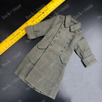 "DML 1/6 Scale WWII German M42 Winter Coat Overcoat for 12"" Body Action Figure"
