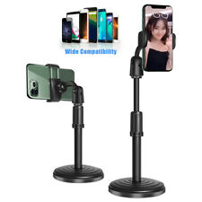 360° Adjustable Desktop Stand Desk Holder Stabilizer For Cell Phone Universal