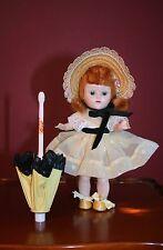 Vintage 1954 Pristine Painted Lash Walker Ginny Doll in Mint 1955 Bon Bon #83