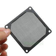 80mm Aluminum Dustproof Filter Dust Mesh Grill Guard For PC Cooling Fan Black