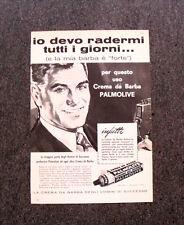 M328- Advertising Pubblicità -1960- PALMOLIVE CREMA DA BARBA