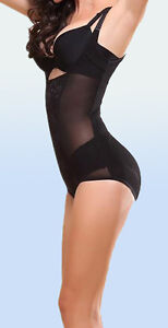 Slimming Body Shaper.  Underbust Lace Front  and Micronet Full Control Body