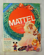 1990 Mattel Holiday Toy Guide