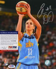 Elena Delle Donne WNBA Chicago Sky Signed AUTOGRAPH 8 x 10 Photo PSA DNA
