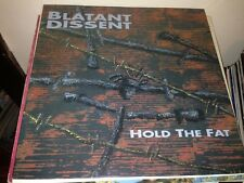 "BLATANT DISSENT - HOLD THE FAT 12"" LP GERMANY PUNK"