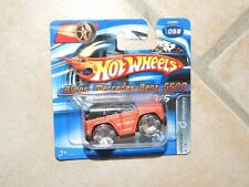 HOTWHEELS 1:64 2006 N°058 DROPSTARS BLINGS MERCEDES G500