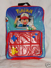 NEW WITH TAGS POKEMON GOTTA CATCH 'EM ALL BACKPACK BLUE/RED