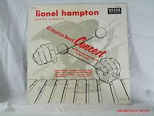 LIONEL HAMPTON -(LP)- ALL AMERICAN AWARD CONCERT  RECORDED ON 4/15/45 - 1955