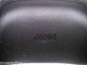 BMW E63 E64 6 Series 2004-2011 M6 OEM Merino Leather Headrest Pair NEW