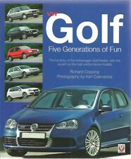 VW Golf MK1 MK2 MK3 MK4 MK5' 74 -'06 Design Development & production libro di storia