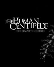 Human Centipede: The Complete Sequence (2015, Blu-ray Neuf)3 Disc Set