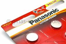 4 x PANASONIC CR2032 Lithium Zellen 3 Volt CR 2032 NEU