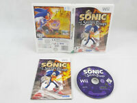 Sonic And The Secret Rings Wii Nintendo Complete PAL