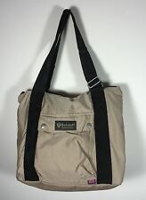 Authentic Belstaff Large Shopping Bag Stucco Zippered Top Belflex Nylon NWT