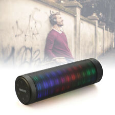 Led Portable Bluetooth Speaker with Loud Stereo Sound Wireless Outdoors Black