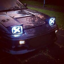 180sx Headlight mod stickers Car Vinyl Drift Decal JDM 200sx S13 240sx Pop ups