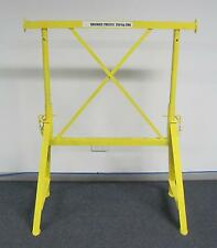 Bricklayers Adjustable Steel A Frame Trestle - Brickies Trestles 800-1200mm