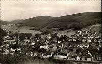 Altenhundem Sauerland s/w Postkarte 1962 Gesamtansicht Panorama mit Umgebung