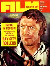 FILM REVIEW MAGAZINE 1975 SEP MICHAEL CAINE, BAY CITY ROLLERS, PRUNELLA GEE