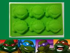 TMNT Ninja Turtle Silicone Jelly Cake Crayon Ice Craft Mold Mould Party Novelty