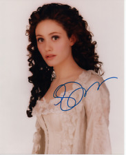 SUPERB 10X8 STILL SIGNED BY EMILY ROSSUM - PHANTOM OF THE OPERA - MYSTIC RIVER