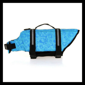 Dog Puppy Safety Vest Swimming Life Jacket Reflective  Pet Supplies Beach Small