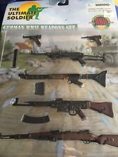Ultimate soldier WW2 German weapons set
