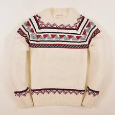 Burton Herren Pullover Sweater Strick Gr.L Wolle Mehrfarbig 85797