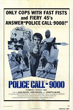 POLICE CALL 9000 Movie POSTER 27x40 Alex Rocco Scatman Crothers Hari Rhodes