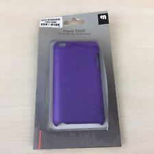 Cubierta de cáscara duro púrpura para APPLE 4G IPOD-Totalmente Nuevo-Rápido TOUCH vendedor de Reino Unido