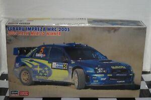Subaru Impreza WRC 2005 Rally Mexico 2005 Hasegawa 1:24 Model Kit 20454