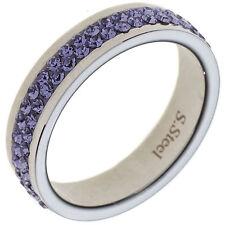 Modeschmuck-Ringe im Cluster-Stil aus Edelstahl für Damen