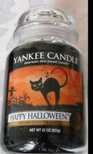 Yankee Candle 'Happy Halloween' Large RARE